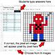 Fractions of a Set - Google Sheets Pixel Art - Superhero