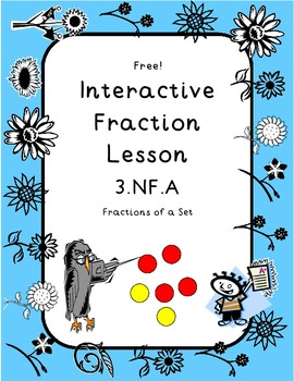 Fractions of a Set Hands On Lesson 3.NF.A