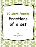 Fractions of a Set Puzzles