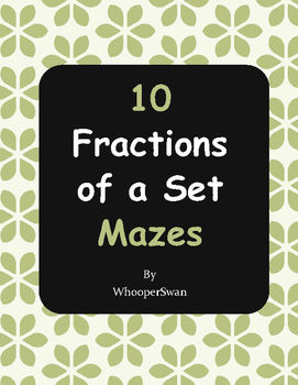 Fractions of a Set Maze