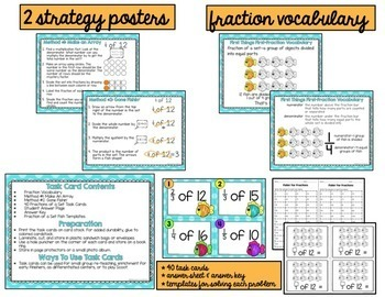 Fractions of a Set Task Cards