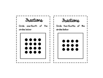 Fractions of a Set - Task Cards