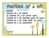Fractions of a Set Unit