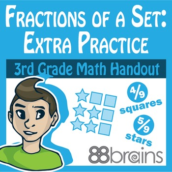 Fractions of a Set pgs. 9 & 10 (Common Core)