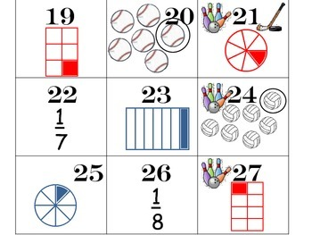 Fractions of a Set and of a Whole Pattern