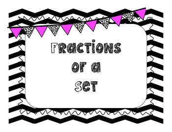 Fractions of a Set cards