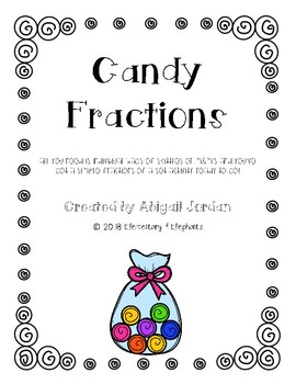 Fractions of a Set with Candy