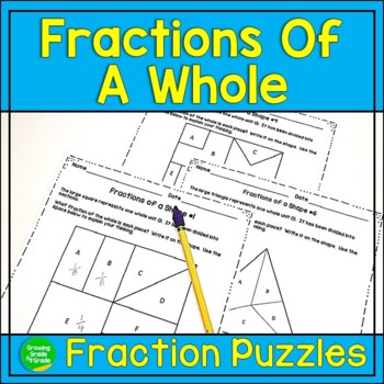 Fractions of a Whole Activity: Critical Thinking in Math