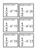 Fractions of a quantity cards {90 different questions}