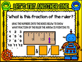 Fractions of an Inch SMART Notebook Lesson