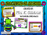 Measurement - Fractions of an Inch SMART Notebook Lesson