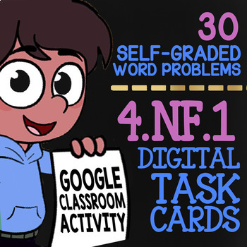 Equivalent Fractions ★ Activity For Google Classroom ★ 4th Grade Math 4.NF.1