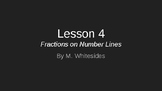 Fractions on Number Lines - Lesson 4