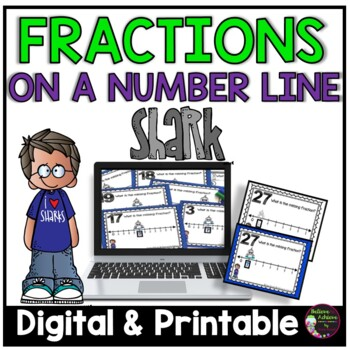 Fractions on Number Lines Task Cards