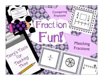 Fractions on Number Lines  and Comparing Fractions with Common Denominators