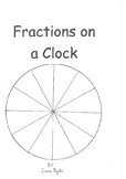 K-5 Fractions on a Clock