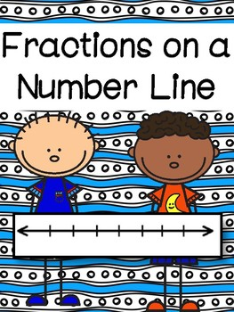 Fractions on a Number LIne:  3rd Grade