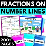 Fractions on a Number Line - Fraction Worksheets, Games, Activities