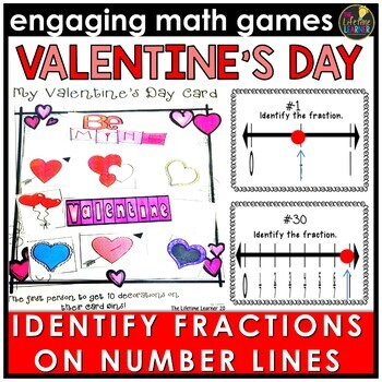 Fractions on a Number Line Game