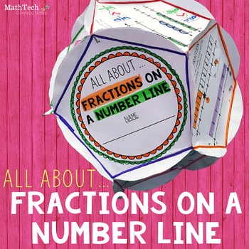 Fractions on a Number Line - Dodecahedron Project
