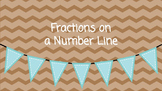 Google Slides Fractions on a Number Line: Interactive Practice