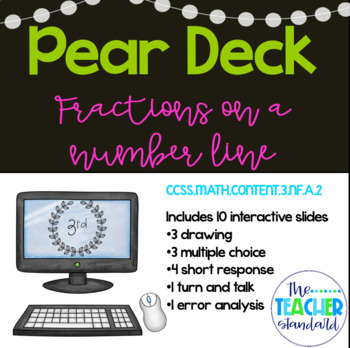Fractions on a Number Line Pear Deck