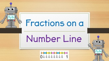 Fractions on a Number Line (Powerpoint)
