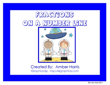 Fractions on a Number Line Printables