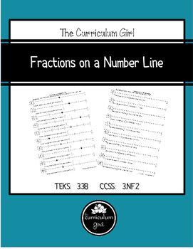 Fractions on a Number Line (TEKS 3.3B, CCSS 3.NF.2)