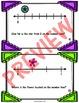 Fractions on a Number Line - Task Cards