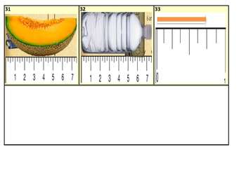 Fractions on a Number Line Task Cards (33 Cards)