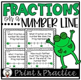 Fractions on a Number Line Activities