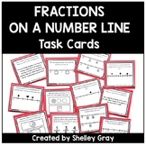Fractions on a Number Line Task Cards | Fraction Practice