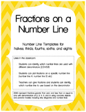 Fractions on a Number Line - Template