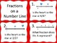 Fractions on a Number Line--Valentine's Day