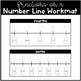 Fractions on a Number Line Work Mat