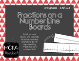 Fractions on a Number Line (make your own personal whiteboards)