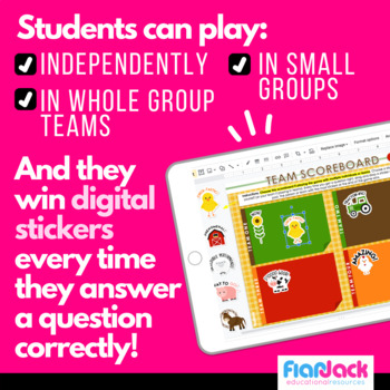 Fractions on the Farm SMART BOARD Game - Common Core Aligned