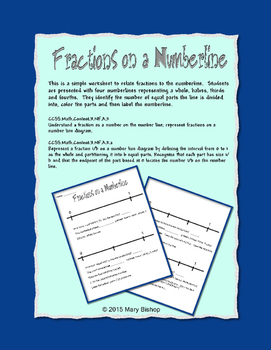 Fractions on the Numberline