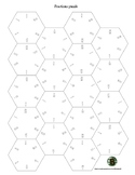 Fractions puzzle (hexagon shaped)