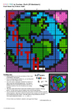 Fractions of the Earth, Collaborative Math Mosaic (2 Versi