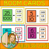 Fractions to Decimals Boom Cards