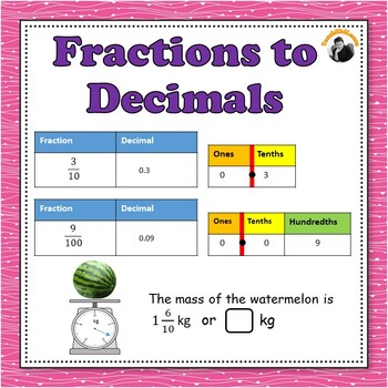 fractions to decimals worksheets  with denominators  or  by  fractions to decimals worksheets  with denominators  or  by  teachkidlearn