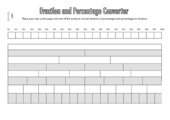 Fractions to Percentages Converter