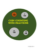 Fractions with Money Coin Counting Chart