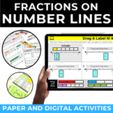 Fractions on a Number Line Game and Activities | Google Cl