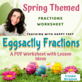 Spring into Fractions with Plastic Eggs!