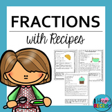 Fractions with Recipes 4.NF.4