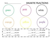Fractions with Smarties!