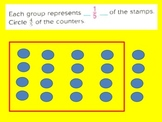 Fractions:Multiply Fractions to Find a Fraction of a Group for Visual Learners